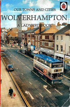 The Ladybird Book of Wolvo! by Lady Wulfrun Ladybird Books, Wolverhampton, West Midlands, Vintage Books, London England, Great Britain, Birmingham, Childrens Books, Nostalgia