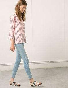 Bershka Colombia - Jeans Bershka skinny Premium wash