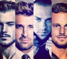 Grey's anatomy. Now people understand why I stick around and watch... #RIPMarkSloan #greyslife.#yummy