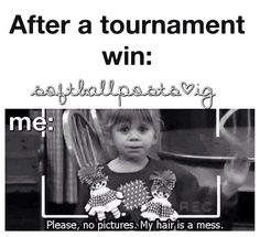 It may be a softball post but it is so relatable with volleyball!!!!