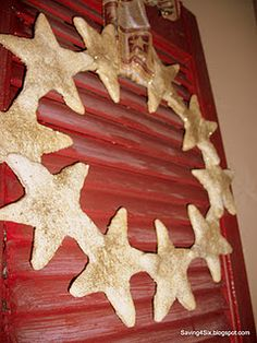 Saving 4 Six: Salt Dough Wreath Salt Dough Crafts, Salt Dough Ornaments, Fun Crafts, Crafts For Kids, Kinds Of Cookies, Christmas Ideas, Christmas Ornaments, Holiday Ideas, Clay Bowl