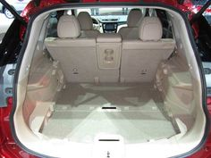 2014 Nissan Rogue's Cargo System Made for Family Life | News | Cars.com 2014 Nissan Rogue, Rogues, Family Life, Baby Car Seats, Cars, Children, Young Children, Boys, Autos