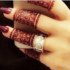 ❤ Engagement Henna