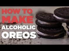 Someone Answered All Of Our Prayers And Created Alcoholic Oreos (Video)