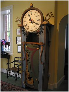 A clock by Rich Dunbrack, found randomly on line!