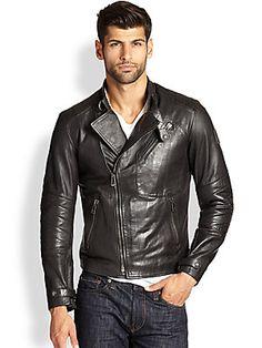 Belstaff Kendall Blouson Leather Jacket