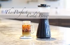 at home cold brew, how to make your own cold brew, cold brew recipe