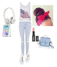 """Happy 4th of July polyvore lovers"" by mopatjones ❤ liked on Polyvore featuring Topshop and The Cambridge Satchel Company"