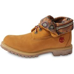 Boots / Chaussures montantes Timberland 6-inch Roll-top Beige 350x350