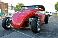 This Aussie Red Volkswagen Hot Rod just blew all the gaskets at the S.A. Volksfest 2009. It belongs to a member of the Volks Enthusiasts Club of South Australia Inc.