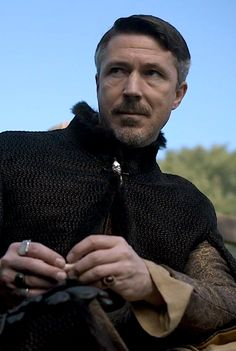 Aidan Gillen as a particularly evil looking Petyr Baelish, Game of Thrones, season 5. :D