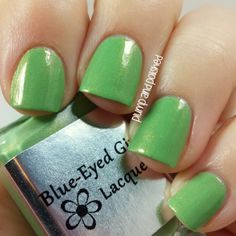 Plump and Polished: Blue-Eyed Girl Lacquer - BEGL Go Bragh LE