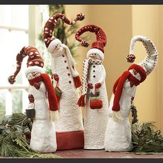 Thomasville Dining Table Ideas For Christmas Table Decorations Decorations Of Christmas Christmas Gnome, Christmas Projects, Christmas Holidays, Christmas Ornaments, Ornaments Ideas, Christmas Ideas, Snowman Crafts, Holiday Crafts, Holiday Decor