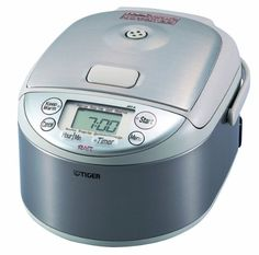 Tiger (Uncooked) Micom Rice Cooker and Warmer, Stainless Steel Silver Rice Cookers Tiger Rice Cooker, 3 Cup Rice Cooker, Rice Cooker Steamer, Specialty Appliances, Small Appliances, Kitchen Appliances, Stainless Steel Rice Cooker, Best Electric Pressure Cooker, Induction Heating