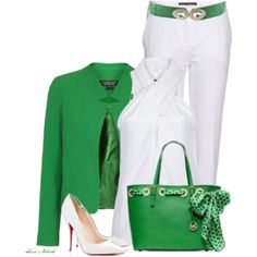 St. Patrick's Day Office Outfit