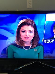 someone from Star Trek has a part time job on earth as a TV reporter.