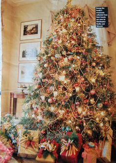 A Victorian Christmas Tree...Angie this is what you agreed to help me with lol...I'm sure you had no idea what you agreed to though! Get ready!