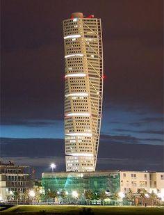 Turning Torso, Malmö Sweden   Santiago Calatrava