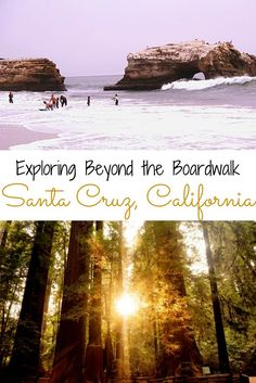 Spend some time on the California Coast and explore Santa Cruz. What to do, where to stay, and where to eat. Top things and activities in Santa Cruz. (Cool Places In California) Aptos California, California Camping, California Coast, California Dreamin', California Quotes, California Burrito, California Mountains, California Closets, California Fashion
