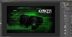 Fun made wallpaper for Razer Kraken Headset.  For more info check my blog: http://ritacabral.wordpress.com/2014/08/22/razer-kraken-headset-wallpaper/