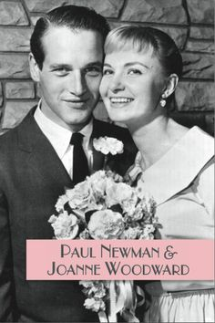 Paul Newman and Joanne Woodward Out of the Past ~ A Classic Film Blog: An Art Deco & Classic Hollywood Wedding