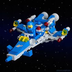 Mini LEGO Benny's Spaceship by Chris McWeigh Instructions