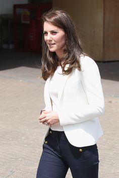 Catherine, Duchess of Cambridge visits the 1851 Trust roadshow at Docklands Sailing and Watersports Centre on June 16, 2017 in London.