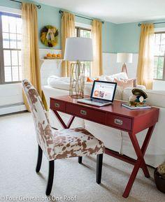77 Best desk in living room images | Desk in living room ...
