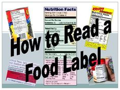 TeacherLingo.com - This lesson includes everything students should know about reading food labels and gives the formulas to figure out if a food is healthy enough to be in school vending machine.