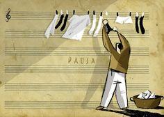 """""""Pausa"""" - illustrazione digitale"""