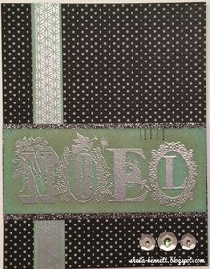 Sheila's Stamping Stuff: All Lit Up (Technique Blog Hop) #Snowhaven #C1598Noel #embossingpowder #heatembossing