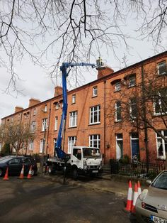 An EBRoofing cherry picker service is a safe, cost effective and quick option we offer. Our team is happy to bring you numerous professional, affordable services. Roof Repair, Dublin, Cherry, Street View, Bring It On, Happy, Ser Feliz, Prunus, Happiness