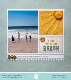 A Fun Day at the Beach - Scrapbook.com