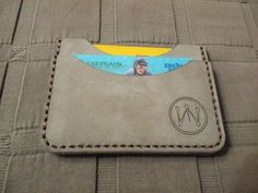 Leather Wallet With ID Window