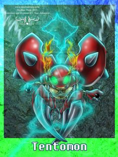 Digimon: Tentomon by *Juctoo on deviantART