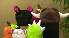 Studio 5 - Fleece Hats for Halloween