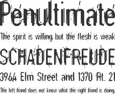 Astonished Font Phrases. Found on font squirrel.com. I think it's a pretty cool font to use for a more roughed up looking design. This would be my kind of font since I like a lot of designs that are based off of sketches. It is available free for download.