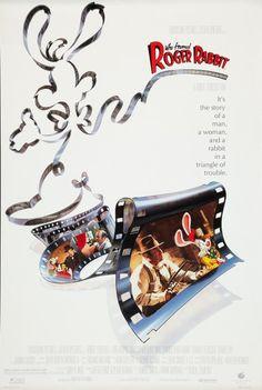 Who Framed Roger Rabbit? 1988. Love the poster