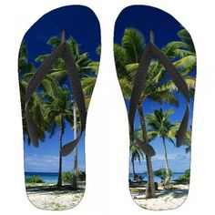 Palm Tree Bliss Kids Flip-Flops can only be found here at Hotbuckles hang out comfortably in style while wearing these Fashionable Graphic flip-flops,Comfortable for indoor and outdoor use