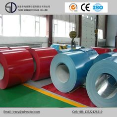 Prepainted Galvanized PPGI Steel Coil http://www.tjsdrcsteel.com