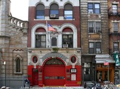 New-York-Lower-Eastside-Firehouse-- my favorite firestations are in NYC!!! ms