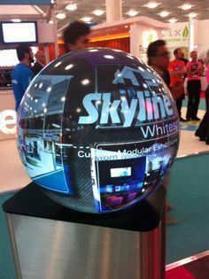 On the Skyline Whitespace stand at #MarketingWeekLive 2012