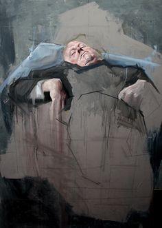 """Saatchi Online Artist: Benjamin Cohen; """"Untitled'"""""""