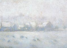 Effet de neige à Giverny-Monet | Clyne - Blog lifestyle, voyage, shopping, culture, Paris