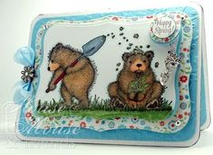 Gruffies, House-Mouse, Bears, HAPPY SPRING