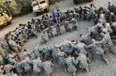 Troops Praying .