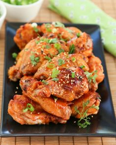 Korean Sticky Wings | Thirsty for Tea
