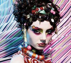 MAC colourful make-up