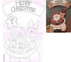 Modelos de murais lembrancinhas escolares,moldes para trabalhos em feltro e e.v.a e mais ...: natal