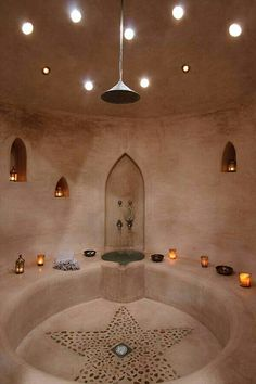 Villa Anouk, Essaouira, Morocco boutique hotel read spa luxury mindful travel day trip to marrakech chic decor Spa Design, House Design, Earth Bag Homes, Mud House, Tadelakt, Natural Homes, Natural Building, Saunas, Bathroom Interior